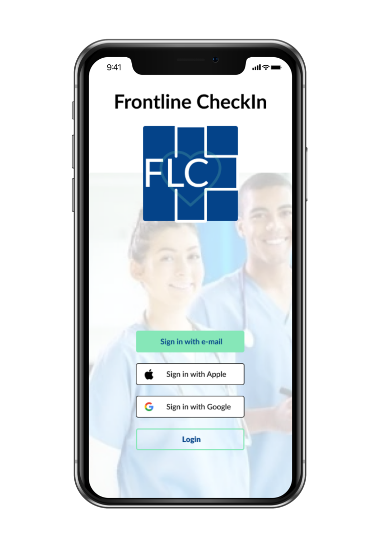FrontLine Check In Cover Page
